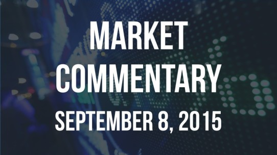 Market Commentary – September 8, 2015