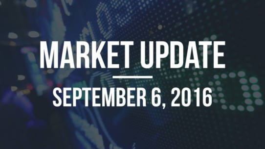 Market Update – September 6, 2016
