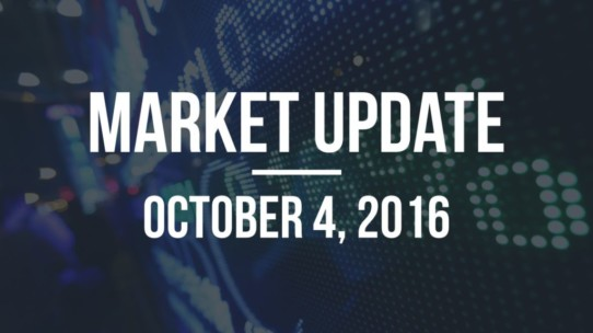 Market Update – October 4, 2016